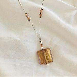 Murano Venetian Glass Necklace